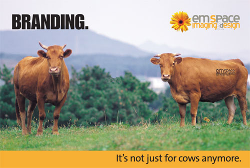 Branding - It's not just for cows anymore.
